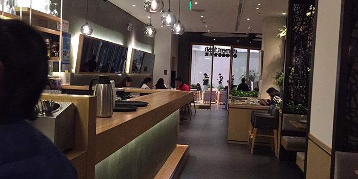 Indoor of Element Fresh (Wanke) located in Minhang, Shanghai