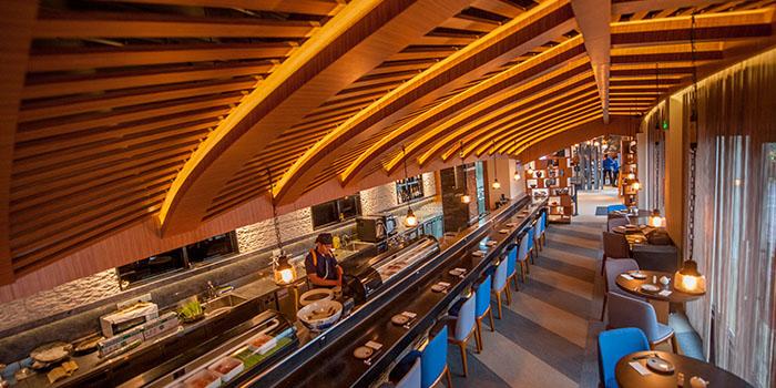 Indoor of of Hatsune located in Disney Town
