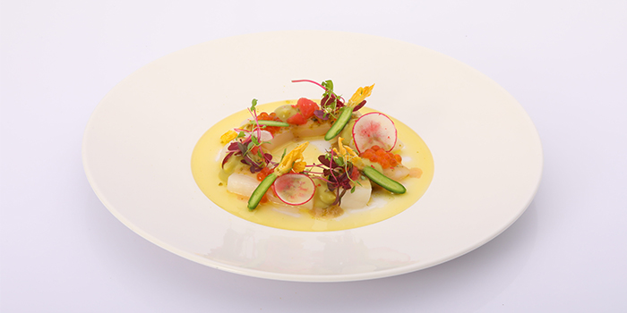 Appetizer of LAGO by Julian Serrano located in Hongkou, Shanghai