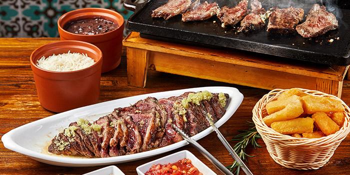Picanha on d grill of Boteco Brazilian Bar and Food located on Julu Lu, Jing