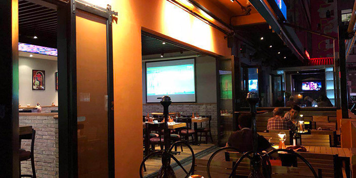 Outdoor of Kebabs On The Grille Indian Cuisine (Laowaijie) located in Minhang, Shanghai