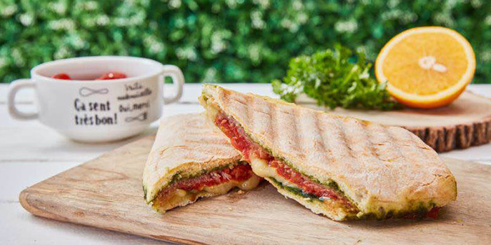 Panini of Heat French Rotisserie & Bistro located in Jing