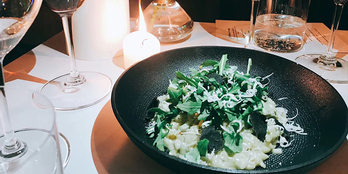 Risotto of dot Bistrol & Wine Bar located in Xuhui, Shanghai