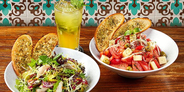Salads of Boteco Brazilian Bar and Food located on Julu Lu, Jing