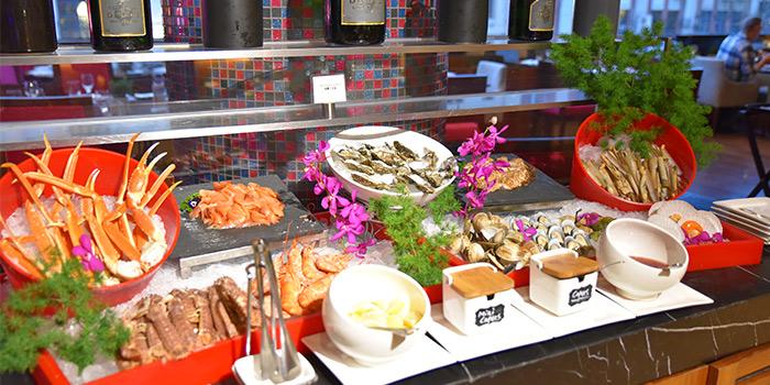 Seafood of Mosaic (Sofitel Hyland) located on Nanjing Dong Lu, Huangpu, China