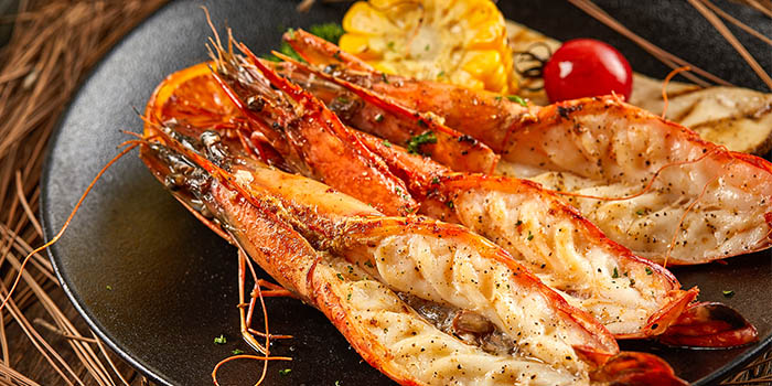 Shrimp of of Meuhst French Grill & Wine located in Pudong, Shanghai