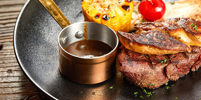 Steak of of Meuhst French Grill & Wine located in Pudong, Shanghai