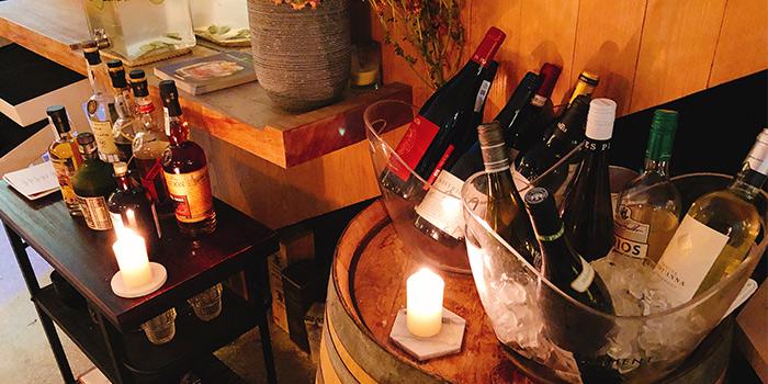 Wine of dot Bistrol & Wine Bar located in Xuhui, Shanghai