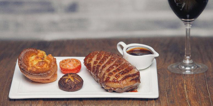 Duck from MUST Grill on Wuding Lu, Jingan, Shanghai