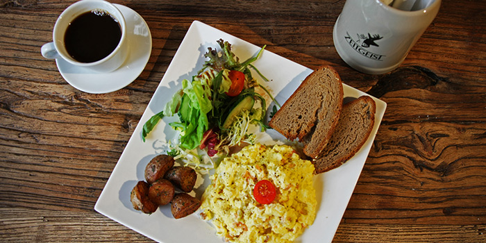 Eggs from Zeitgeist located on Haifang Lu, Jing