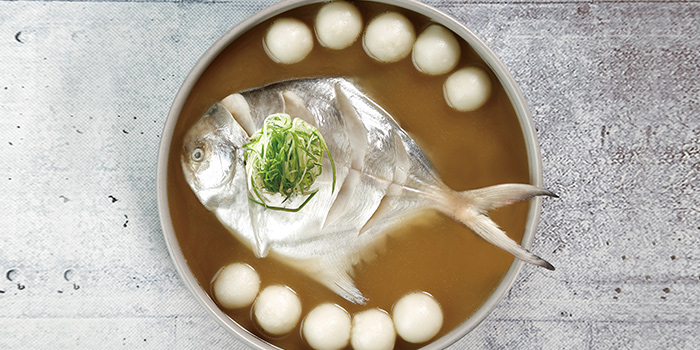 Fish from Oriental House (Jing