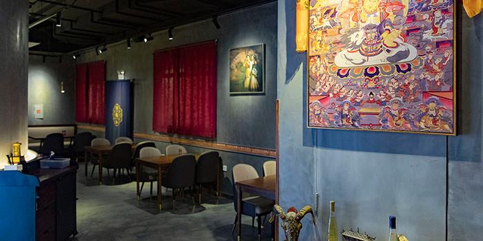 Interior of Ronglek located in Hongkou, Shanghai