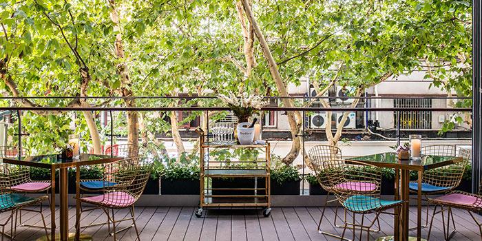 Outdoor of Ai Fiori located Huangpu, Shanghai