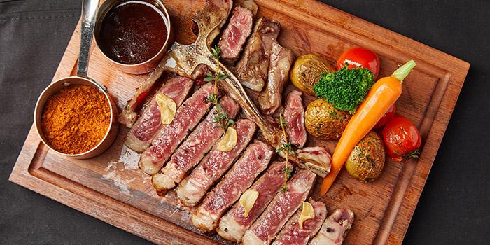 T-bone Steak from Chez Louis located in Jing