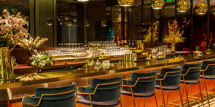 Bar of Ai Fiori located Huangpu, Shanghai