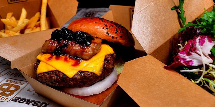 Rouge Goose Liver Beef Burger of Bistro Burger