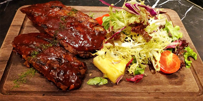 BBQ Pork Ribs of Crafted by Bistro Burger