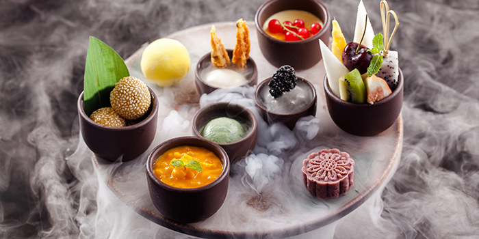 Dessert of Xindalu-China Kitchen in The Bund, Shanghai