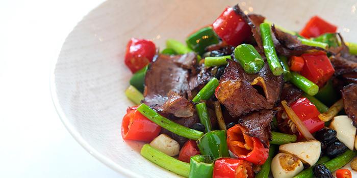 Food of Sijixuan located on Weihai Lu, Jing