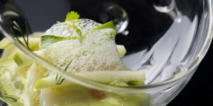 Scallop Ceviche of NAPA Wine Bar and Kitchen in The Bund, Shanghai
