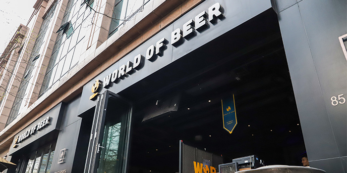Outdoor of of WORLD OF BEER (Fumin Lu) located in Jing