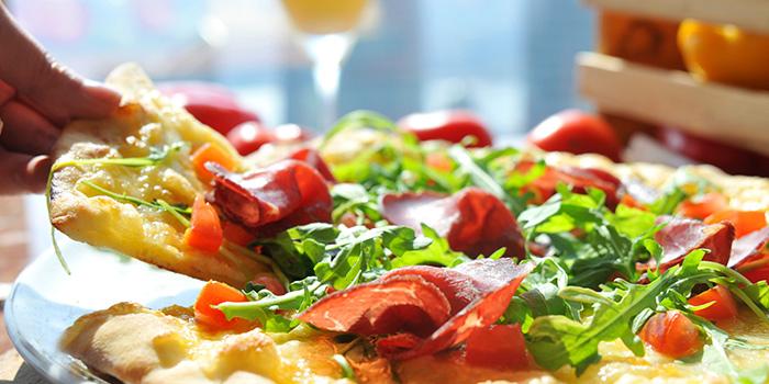 Pizza of Cucina located in Grand Hyatt Pudong, Shanghai