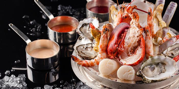 Seafood of VUE Restaurant in The Bund, Shanghai