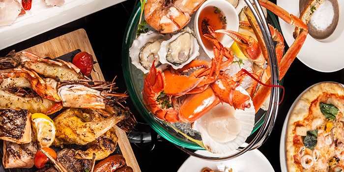 Seafood of of The Grill located in Grand Hyatt Pudong, Shanghai