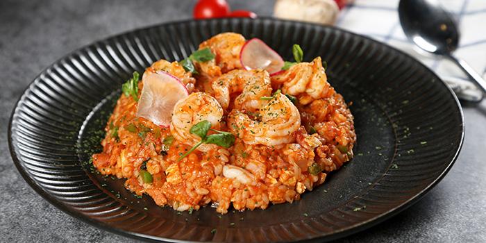 Seafood Rice of WORLD OF BEER (Fumin Lu) located in Jing