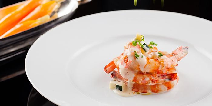 Shrimp of VUE Restaurant in The Bund, Shanghai