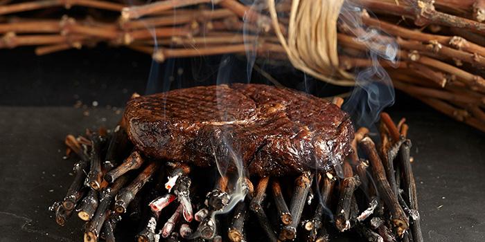 Steak of VUE Restaurant in The Bund, Shanghai