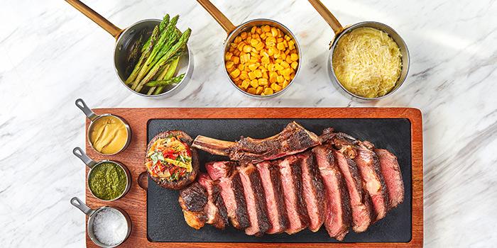 Steak of ROOF 325 Restaurant & Bar located in Huangpu, Shanghai