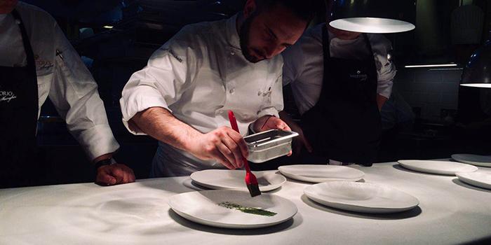 Chef of Da Vittorio located in Huangpu, Shanghai