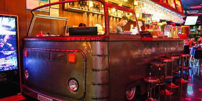 Bar of 1886 Restaurant & Bar (Lujiazui) located in Pudong, Shanghai