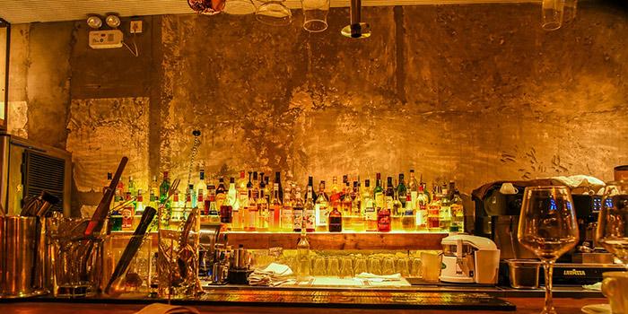 Bar of Yasmine's Hotpot (Xiangyang Lu) located in Xuhui, Shanghai