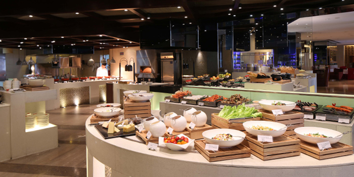 Buffet of Café Swiss (Swissotel Grand Shanghai) located in Jing