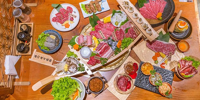 Food of  EN YAKINIKU GRILL & BAR (Panyu Lu) Located in Changning, Shanghai