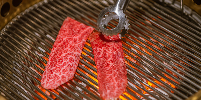 Grill of En Yakiniku Grill & Bar (Mengzi Lu) located in Huangpu, Shanghai