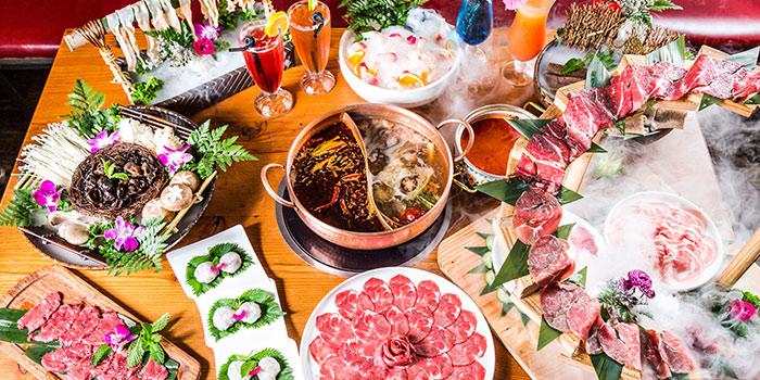 Hotpot of Yasmine's Hotpot (Biyun Lu) located in Pudong, Shanghai