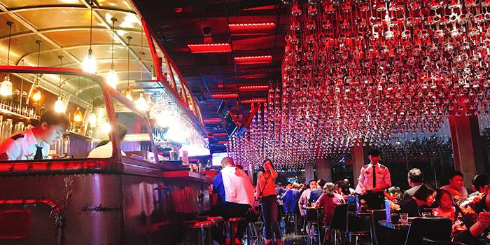 Indoor of 1886 Restaurant & Bar (Lujiazui) located in Pudong, Shangha