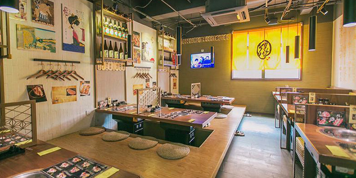Indoor of EN YAKINIKU GRILL & BAR (Panyu Lu) Located in Changning, Shanghai