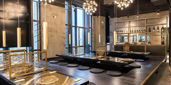 Indoor of EN YAKINIKU GRILL & BAR (Wanping Lu) located in Changning, Shanghai