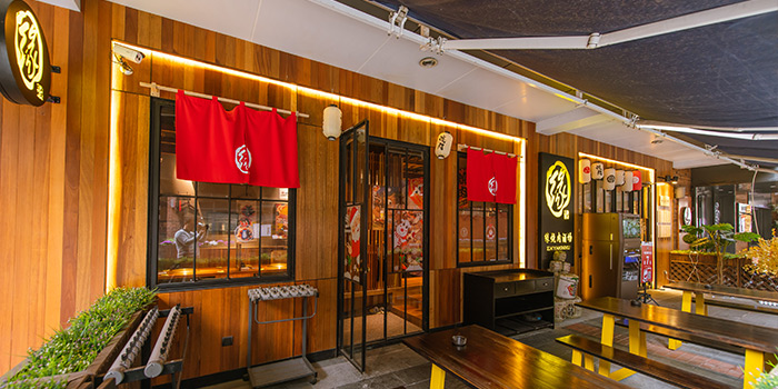 Indoor of En Yakiniku Grill & Bar (Mengzi Lu) located in Huangpu, Shanghai
