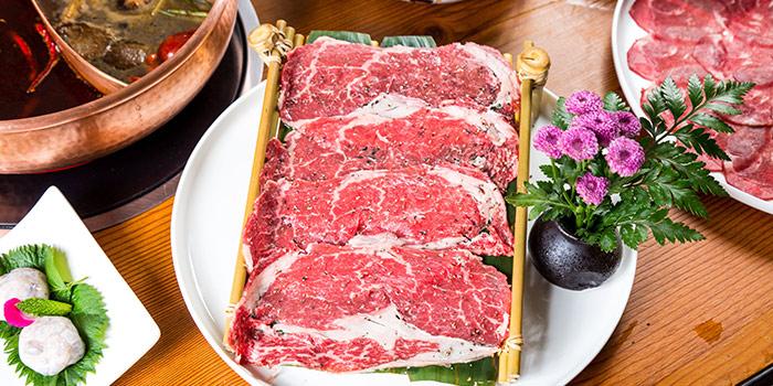Meat of Yasmine's Hotpot (Biyun Lu) located in Pudong, Shanghai