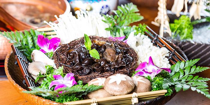 Mushroom of Meat of Food of Yasmine's Hotpot (Xiangyang Lu) located in Xuhui, Shanghai