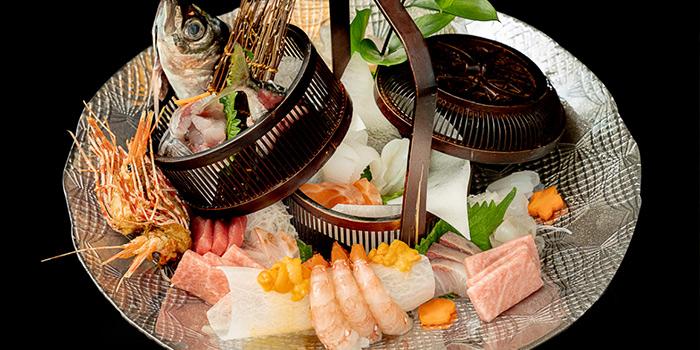 Sashimi of Tsuru (Shangri-La Jing