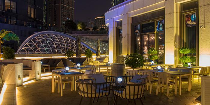 Terrace of seul & SEUL located on Shimen Yi Lu, Jing