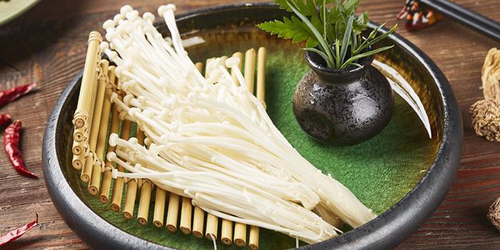 Vegetable of Meat of Food of Yasmine's Hotpot (Xiangyang Lu) located in Xuhui, Shanghai