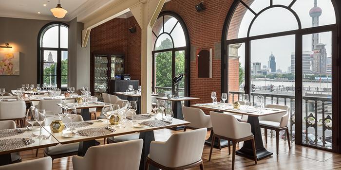 Interior of NAPA Wine Bar and Kitchen in The Bund, Shanghai