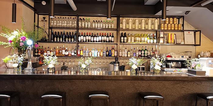 Bar of ROKA located in Minhang, Shanghai